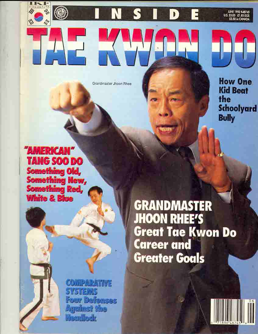 06/92 Inside Tae Kwon Do